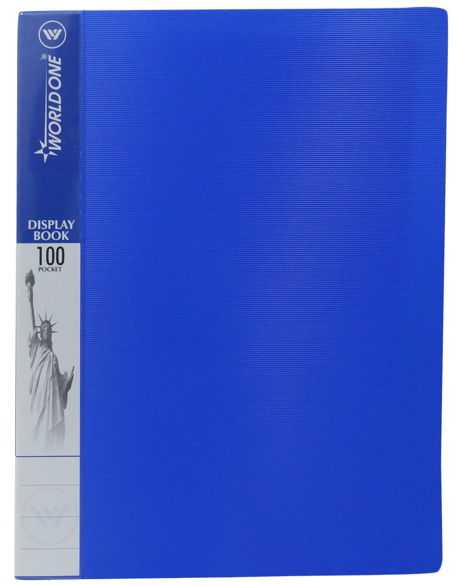 A4 100 Pocket Display Book Presentation Folder Paper Protector Premium Quality File Folder Pack Of 10