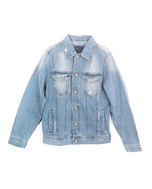 Zara - Chaqueta - para hombre Azul azul Medium: Amazon.es ...