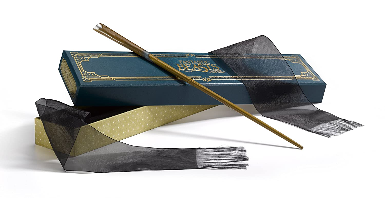 The Wand of Newt Scamander with Collector's Box – Harry Potter