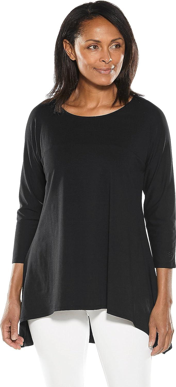 9e1a3ff22fb Coolibar Upf 50 Womens Long Sleeve T Shirt Sun Protection ...