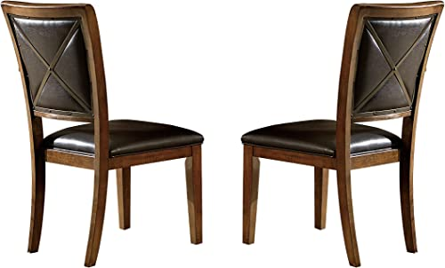 Homelegance HO- Dining Chair, Brown