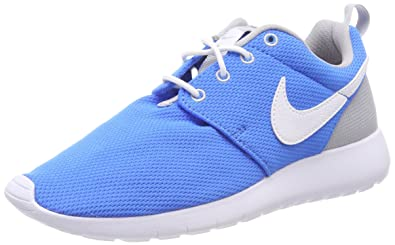 4583771cfc79 Image Unavailable. Image not available for. Color  Nike Youth Roshe One  (Photo Blue White Wolf ...