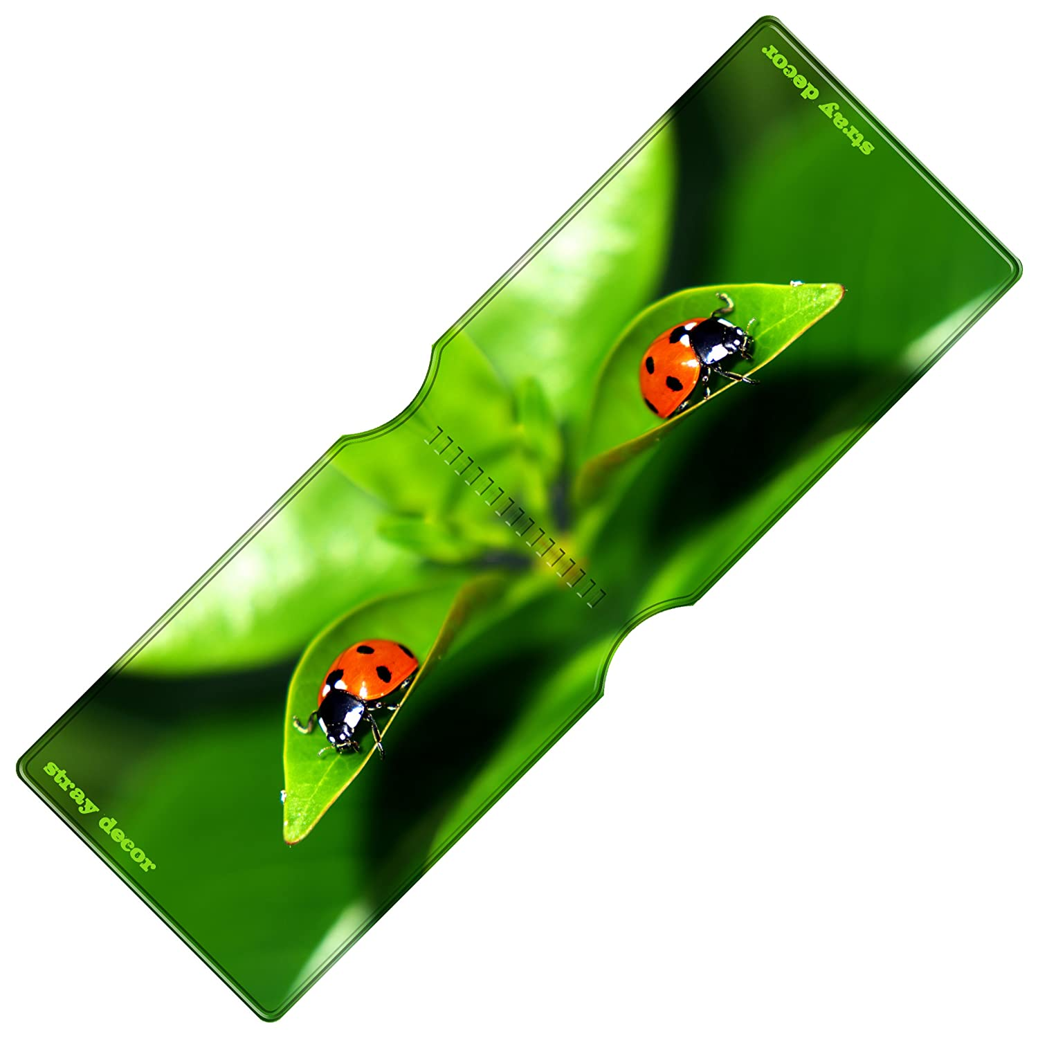 Stray Decor Busy Bees Travel Credit Oyster Card Holder // Bus Pass Wallet