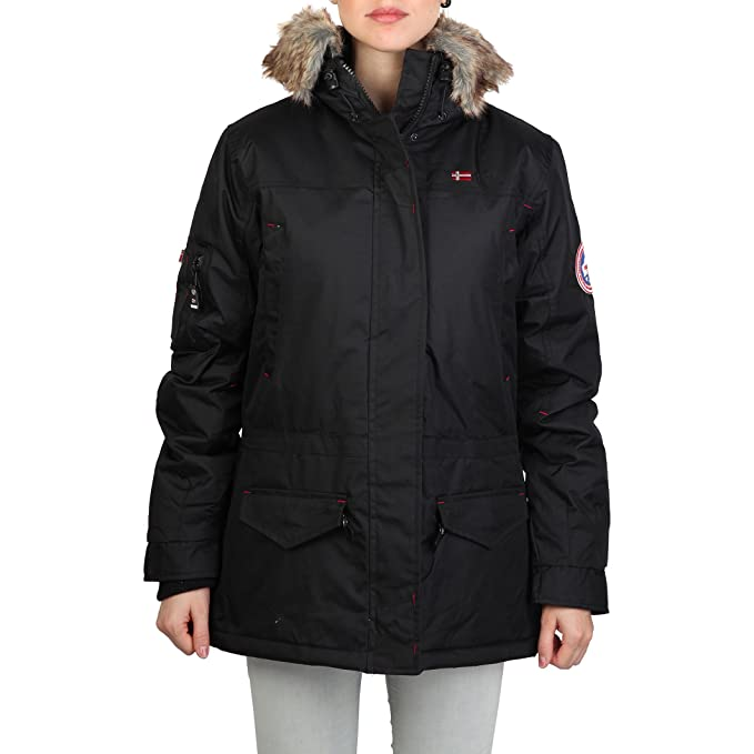chaqueta Geographical Norway Atlas woman negro - mujer - S ...