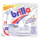 Mr Muscle Brillo Multi Use Soap Pads (Pack of 10)
