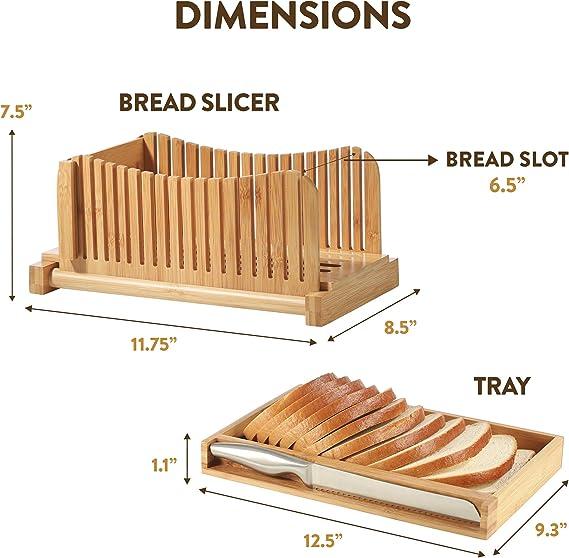 Amazon.com: Guía de corte de pan con cuchillo, cortador de ...