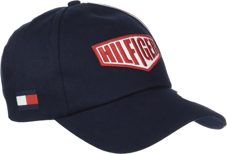 Tommy Hilfiger TH Racing Badge Cap Gorra de béisbol, Azul (Tommy ...
