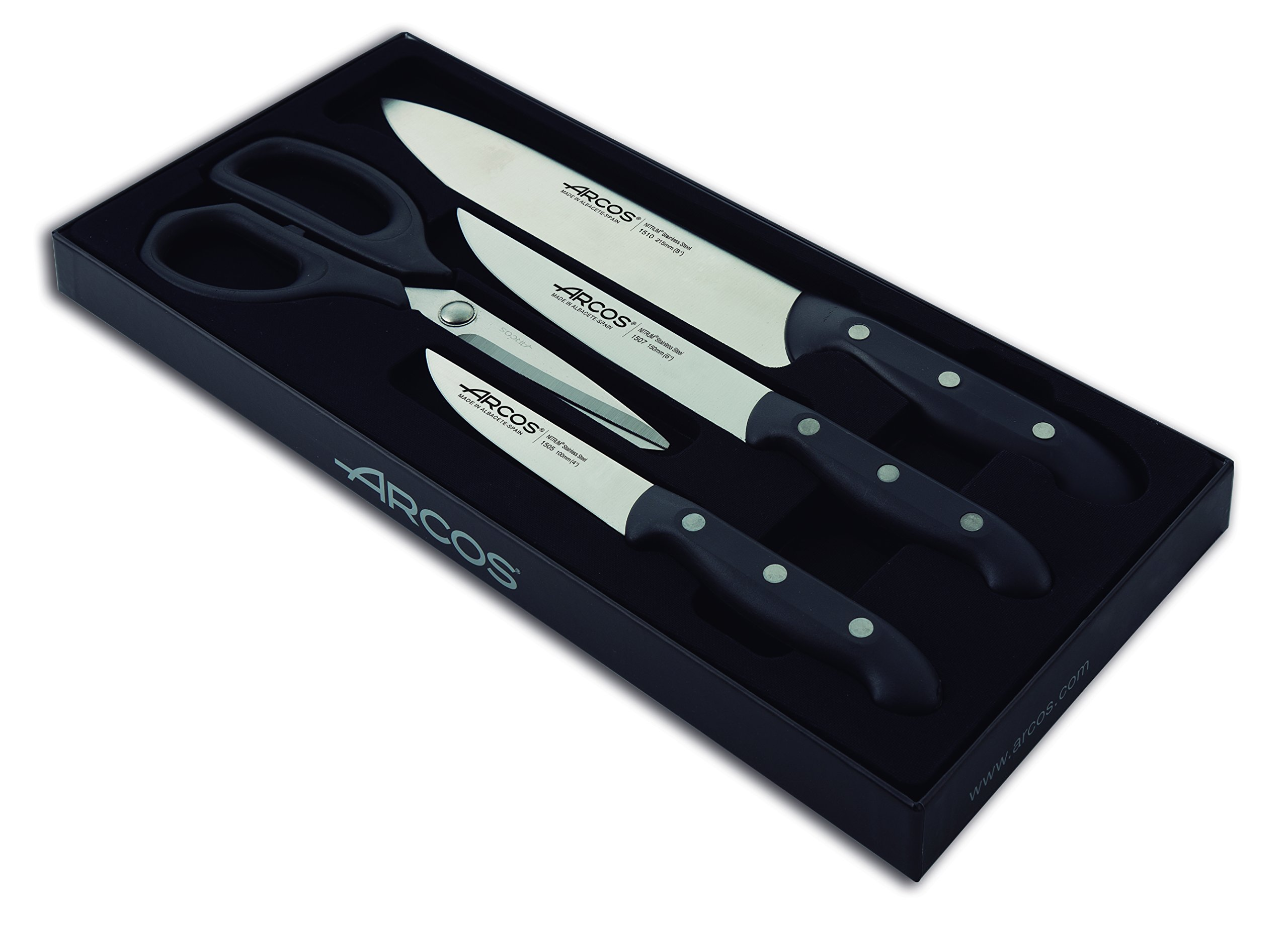 Arcos 4-Piece Maitre Knife Set