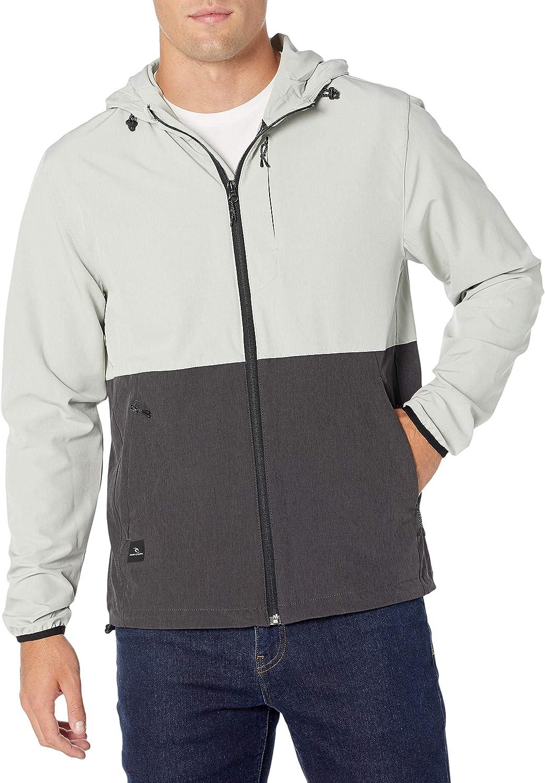 Rip Curl Men's Elite Anti Series Hooded Wind Breaker: Clothing