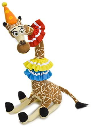 Joy Toy Madagascar 3: Europes Most Wanted - Melman Giraff Peluche Cm 24th Plush