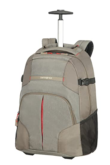 Amazon.com | SAMSONITE LAPTOP BACKPACK/WH 55/20 (TAUPE) -REWIND Casual Daypack, 57 cm, Beige | Luggage & Travel Gear