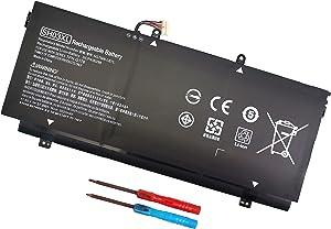 SH03XL 859356-855 Laptop Battery for HP Spectre X360 13-AC0XX 13-AC033DX 13-AC023DX 13-AC013DX 13-AC063DX 13-AC052NA 13-W0XX 13-W063NR 13-W013DX 13T-AB000 HSTNN-LB7L 859026-421 CN03XL 11.55V 57.9WH