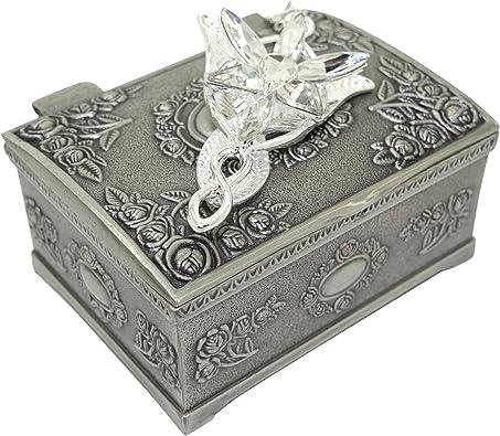 Ruimeng Collar con colgante Evenstar de Arwen del Señor de los anillos, bañado en plata, con estuche, para mujer y niña: Amazon.es: Joyería