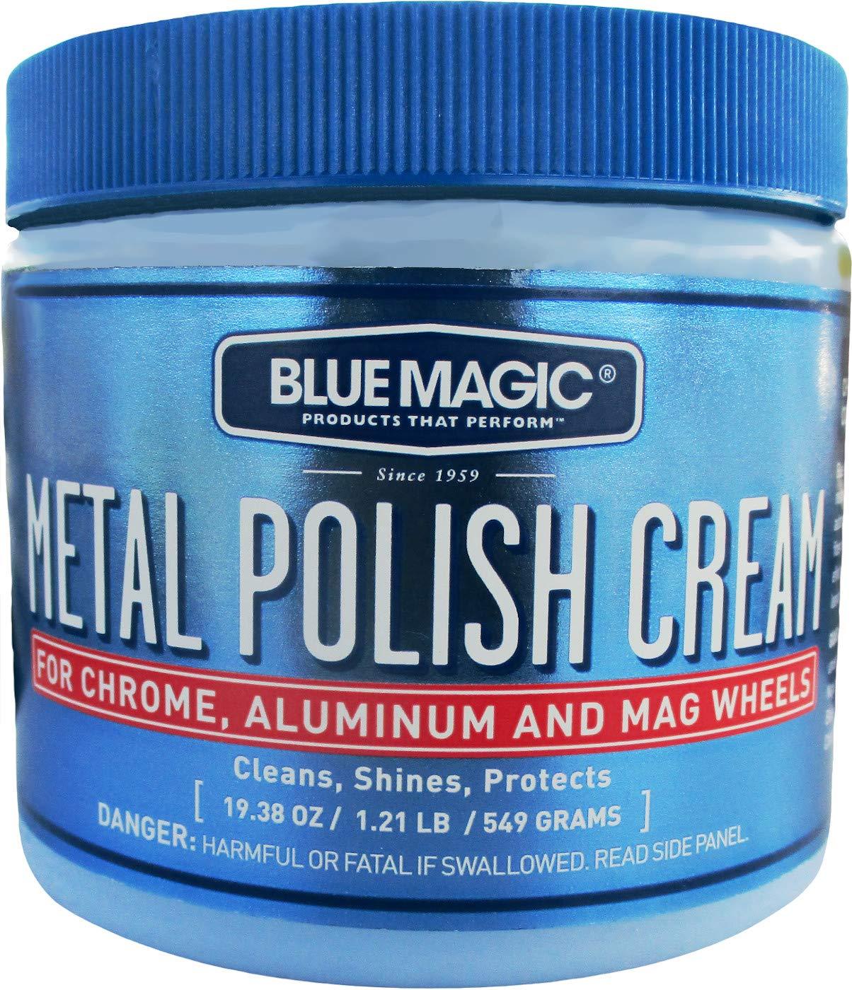 Blue Magic 500-06 Metal Polish Cream - 19 3/8 oz.