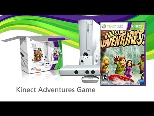 Amazon com: Xbox 360 Special Edition 4GB Kinect Sports