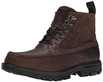 ebe8f81933e5 Timberland Men s Heston Mid Waterproof Boots Dark Brown 9 D(M) US ...