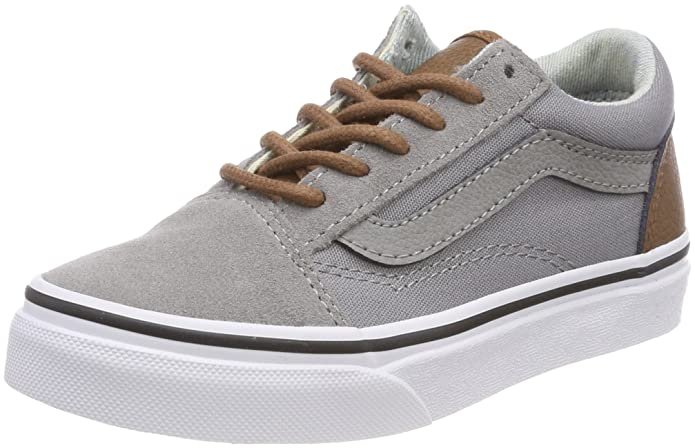 vans old skool kinder grau