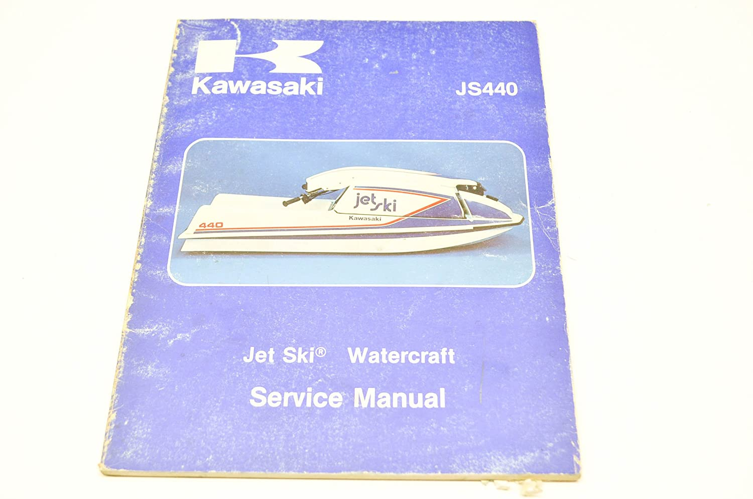 Amazon.com: Kawasaki 99963-0001-05 Jet Ski Watercraft Service Manual JS440.  QTY 1: Automotive