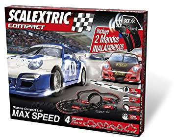 scalextric circuit max speed compact wireless amazon co uk toys