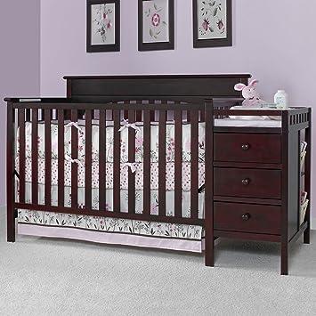 Graco Lauren Crib With Changer   Classic Cherry