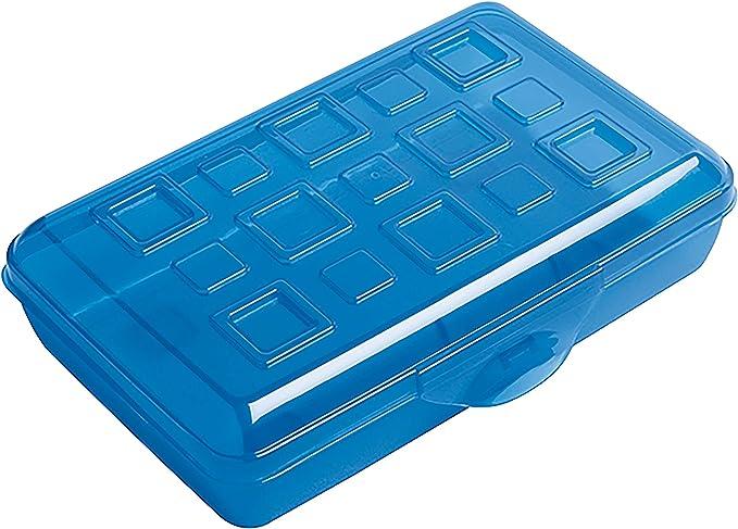 Amazon.com : Sterilite Plastic Pencil Box (17234812) : Large ...