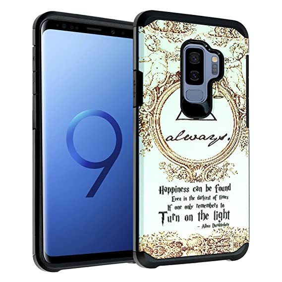 new arrivals 90334 888dc Amazon.com: Galaxy S9+ PLUS Harry Potter Deathly Hallows Case ...
