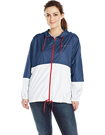 Columbia Womens Plus-Size Flash Forward Windbreaker