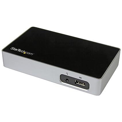StarTech.com USB3VDOCKH - Replicador de Puertos HDMI a USB 3.0 para Ordenadores portátiles
