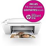 HP DeskJet 2620 Stampante Multifunzione Wireless, Bianco