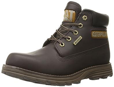 Caterpillar Men's Founder Waterproof Chukka Boot, Mulch, ...