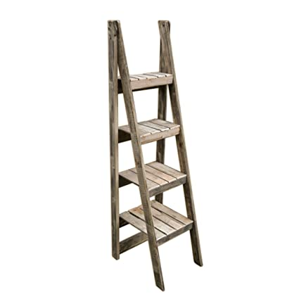 Vintage Apple Crates Ladder Shelves Handmade In Kent Using Reclaimed Wood