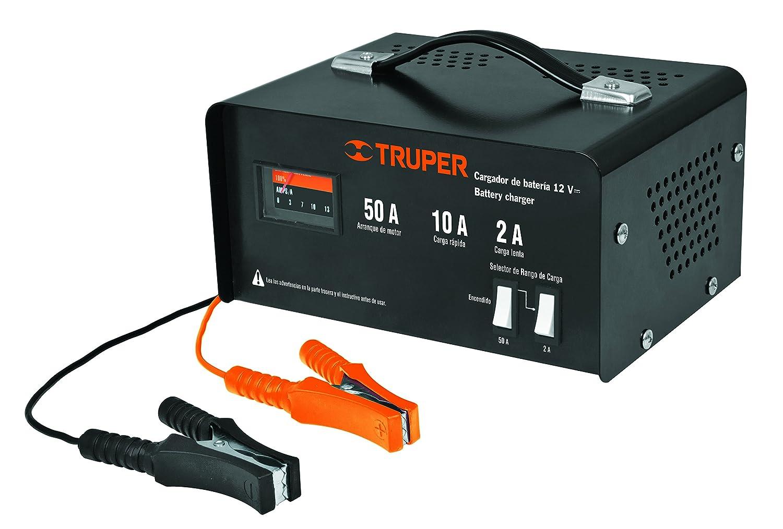 Amazon.com: TRUPER CARBA-50 - Cargador de batería para coche ...