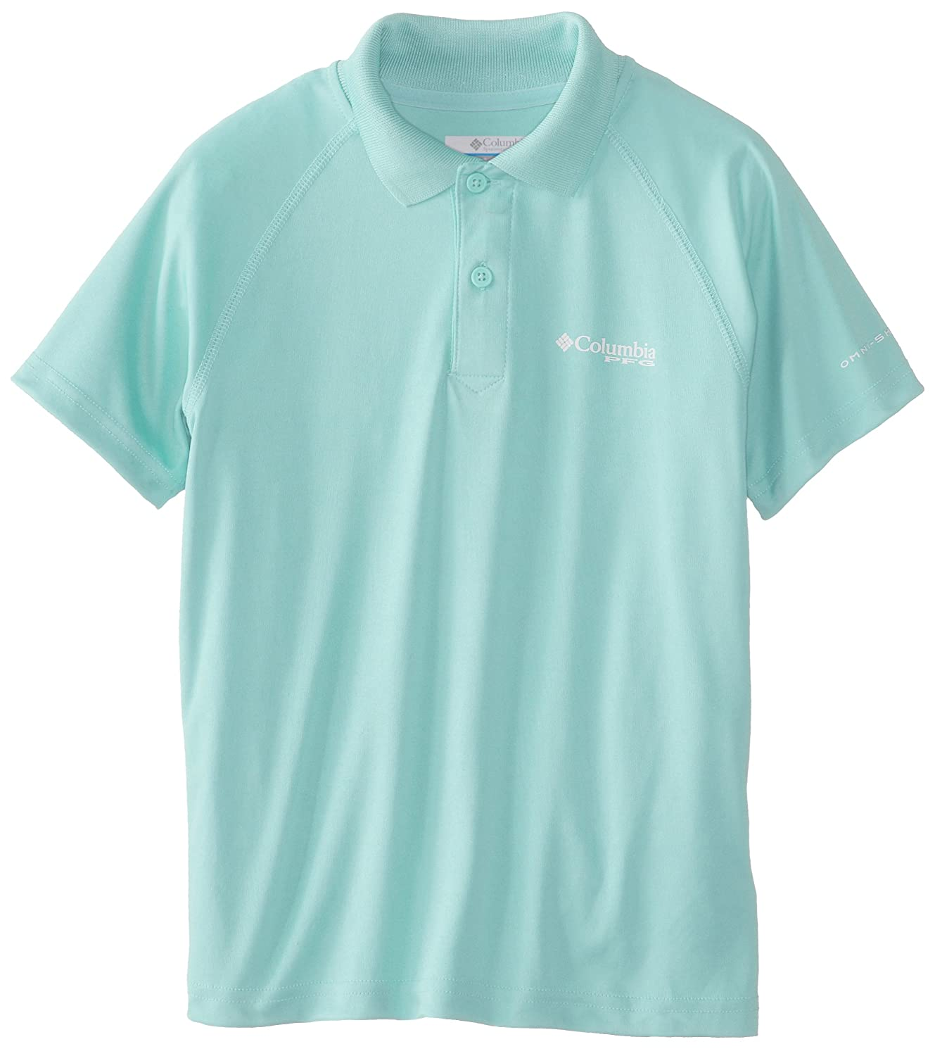 Columbia Sportswear Boys Terminal Tackle Polo Shirt (Youth), Gulf ...