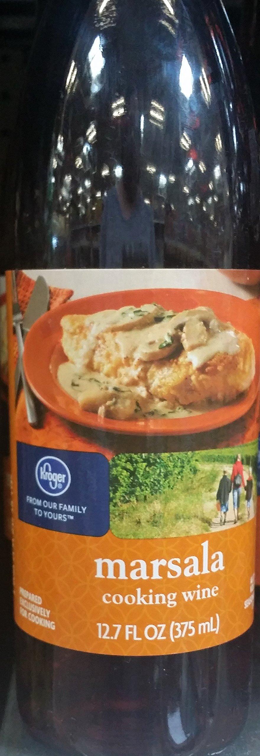 Kroger Marsala Cooking Wine 12.7 oz (Pack of 3)