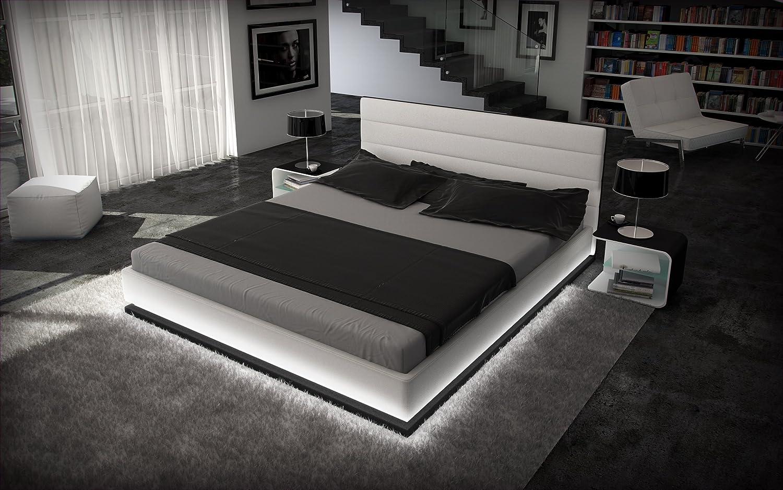 Sofa Dreams CAMAS DE AGUA 180 x 200 cm LUZ DE LA LUNA BLANCO CON ...