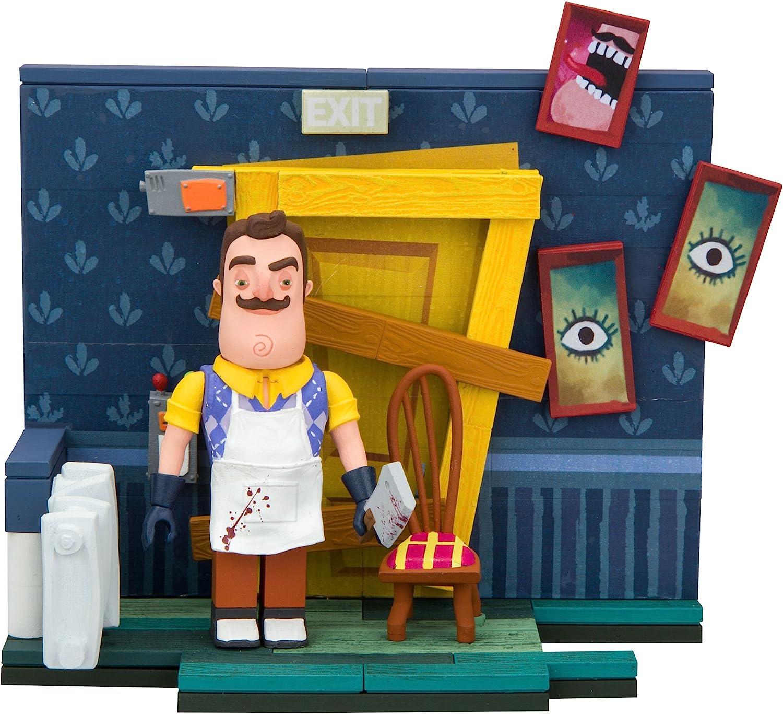 Hello Neighbor McFarlane Toys The Basement Door Small Construction ...