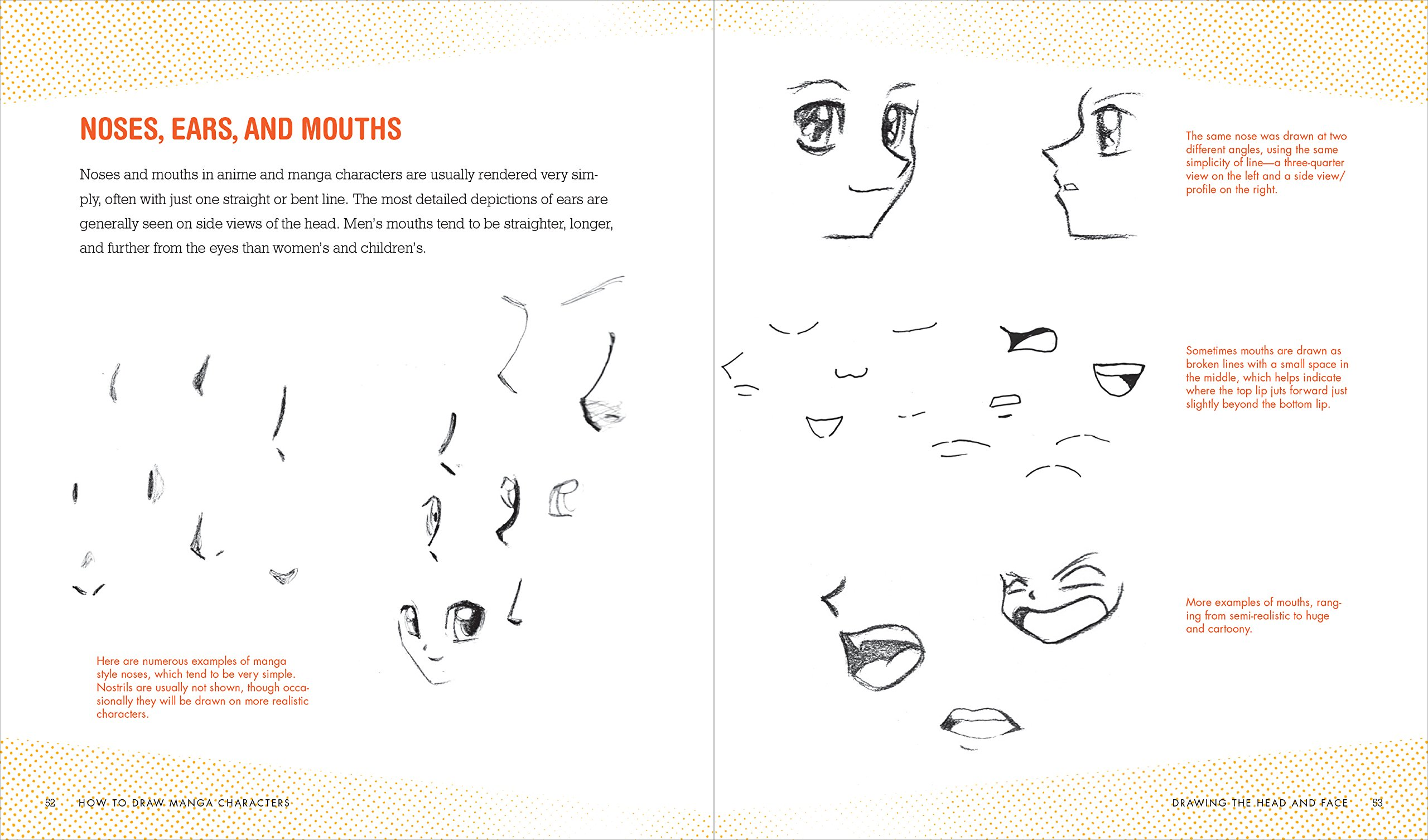 How To Draw Manga Characters A Beginners Guide Amazonde JC Amberlyn Fremdsprachige Bucher