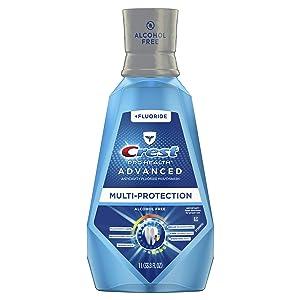 Crest ProHealth Advanced Mouthwash with Extra Deep Clean Fresh Mint Flavor 33.8 fl oz