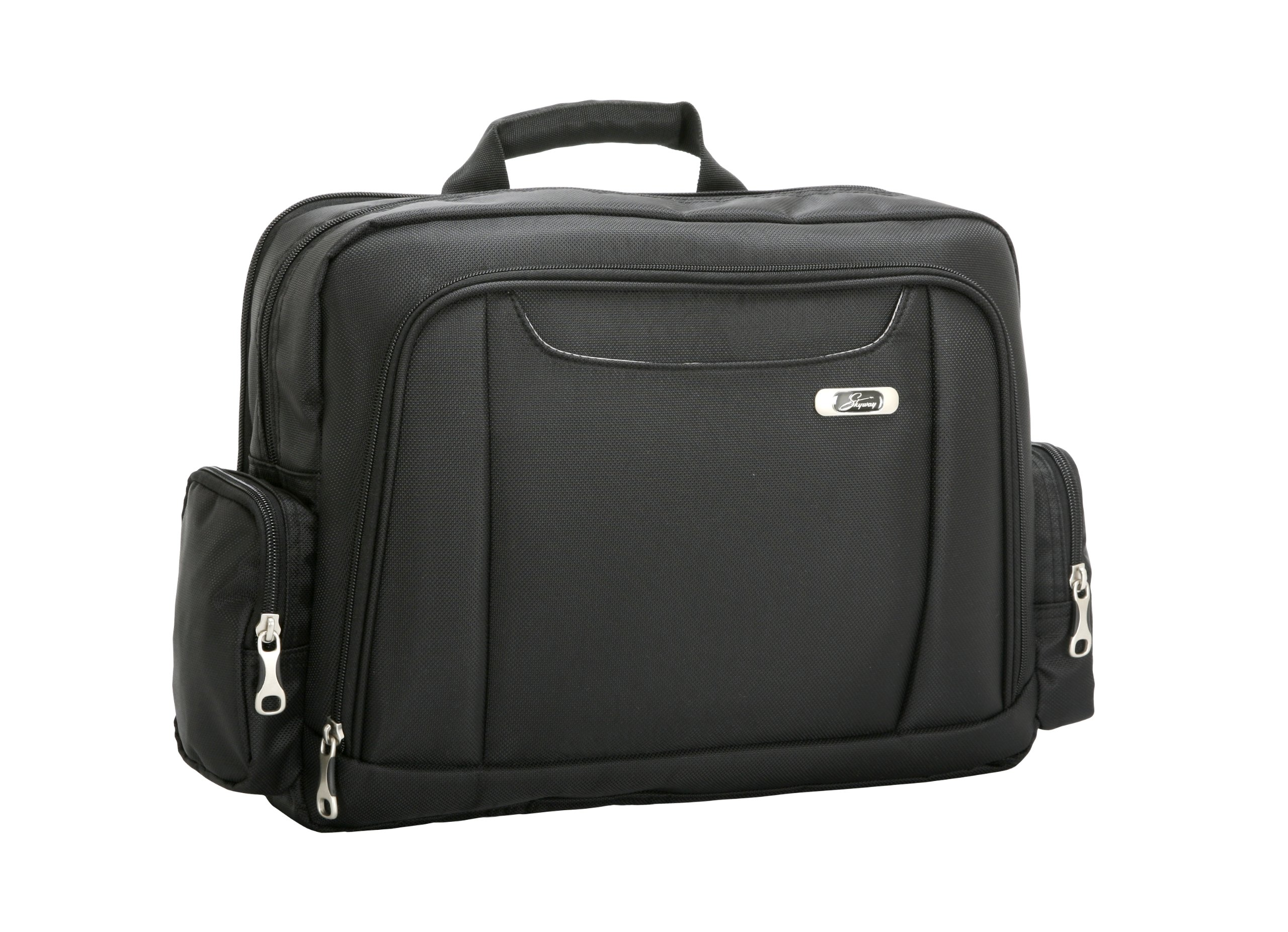 Skyway   Ultra Durable Polyester Messenger Bag,Black,One Size