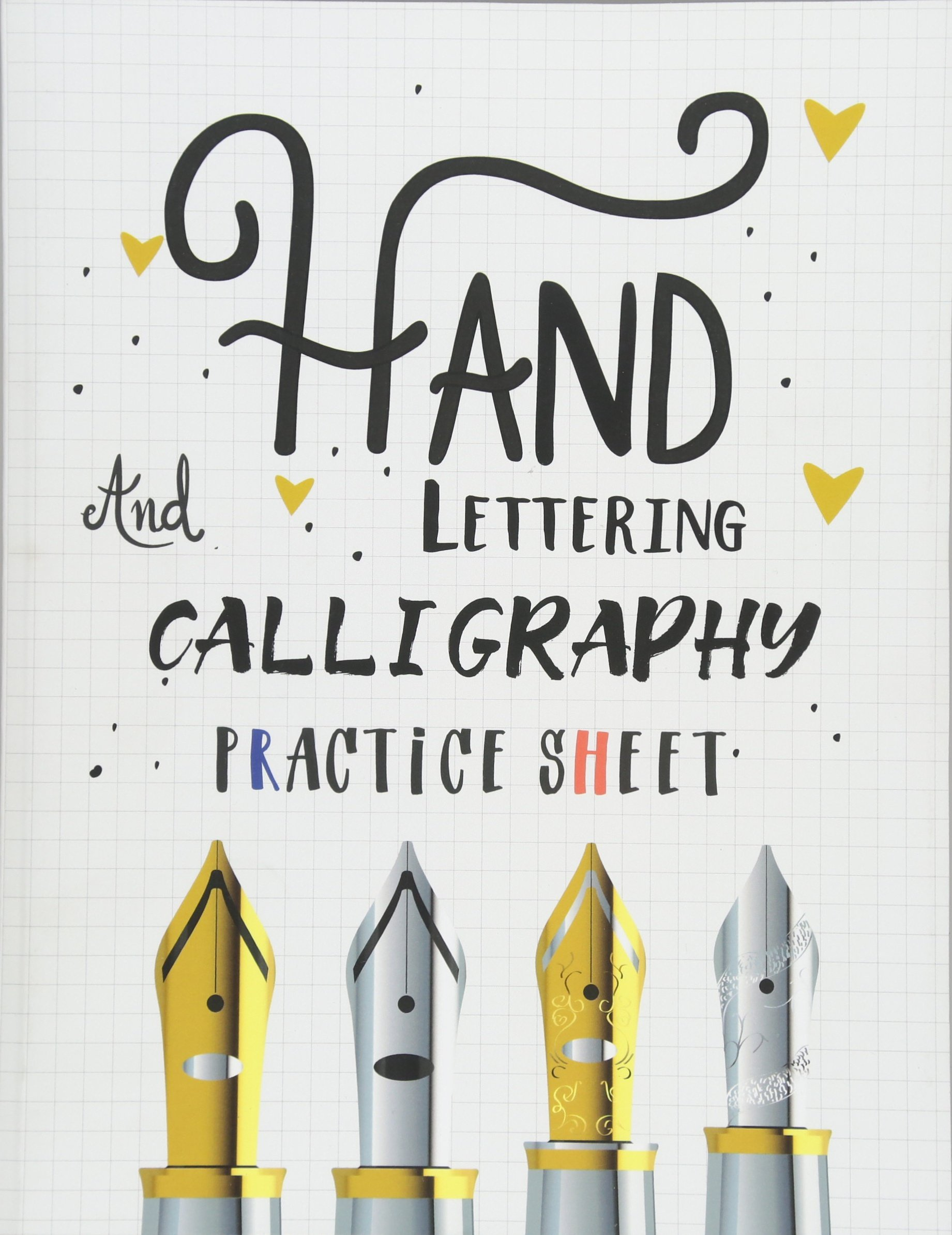 Read Online Hand Lettering and Calligraphy Practice Sheet: Over 100 Pages With Three Types Of Practice: Hand Lettering Practice Sheet (Volume 2) ebook