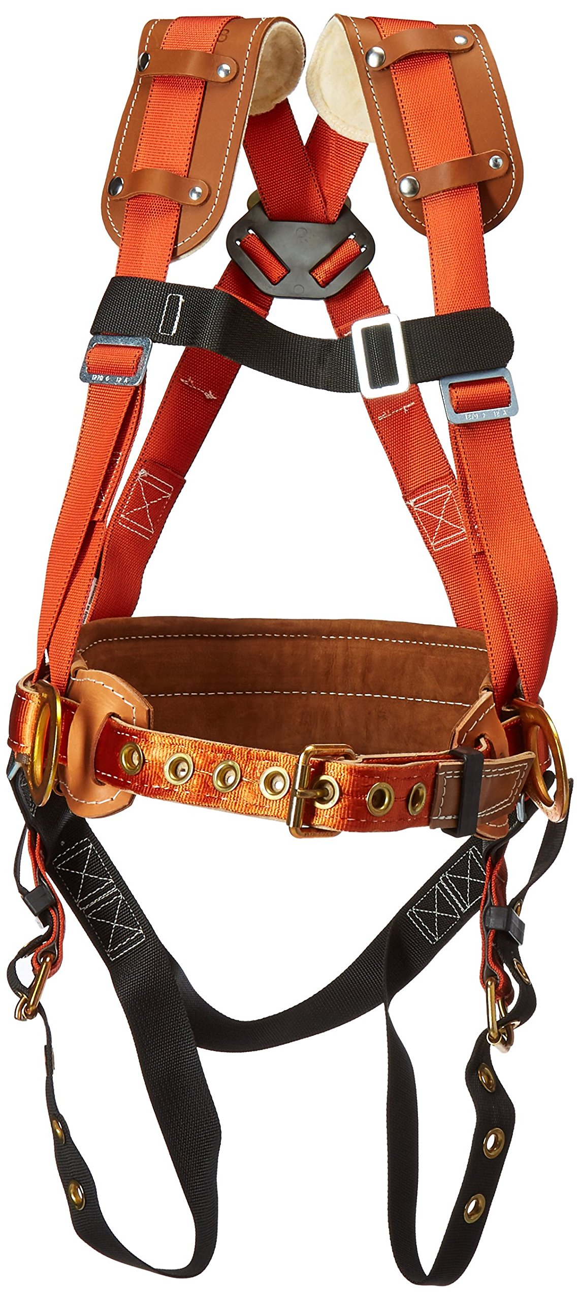 Klein Tools 87831 Fall-Arrest/Positioning Harness for Iron Work, Large