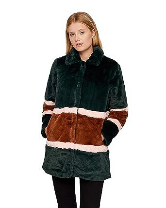 ff027ada Nümph Women's Dot Jacket Coat, Multicolour (4009 Pine Grove), 12  (Manufacturer