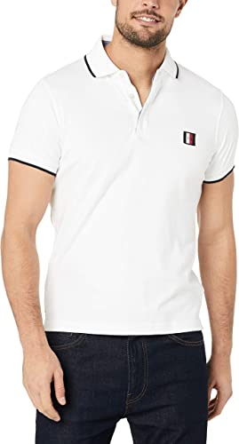 TOMMY HILFIGER Sophisticated Jersey Slim Polo Tops y Camisetas ...