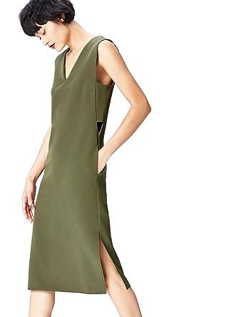 FIND Damen Kleid mit Seitlichen Cut-Outs: Amazon.de: Bekleidung