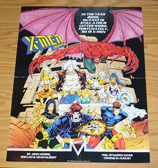 x men 2099 17 x 22 poster art by ron lim adam kubert marvel