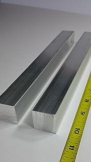 """6061 Plate T6511 Mill Stock 0.375/"""" 4/"""" Length 3//8/"""" x 4/"""" Aluminum Flat Bar"""
