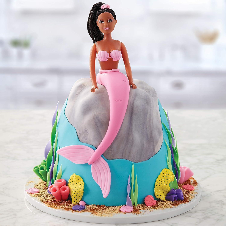 Decorative cake mold semicircle Doll princess dress cake mold for baking 8 inch
