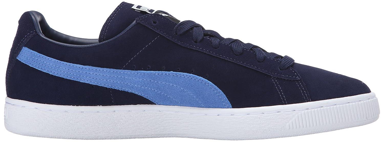 PUMA Adult 6.5 Suede Classic Shoe B01A82GWUQ 6.5 Adult M US|Peacoat/Blue Yonder 16e16f