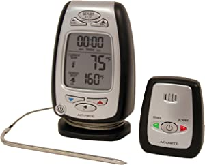 AcuRite 03168 Wireless Cooking and Barbeque Thermometer with Pager