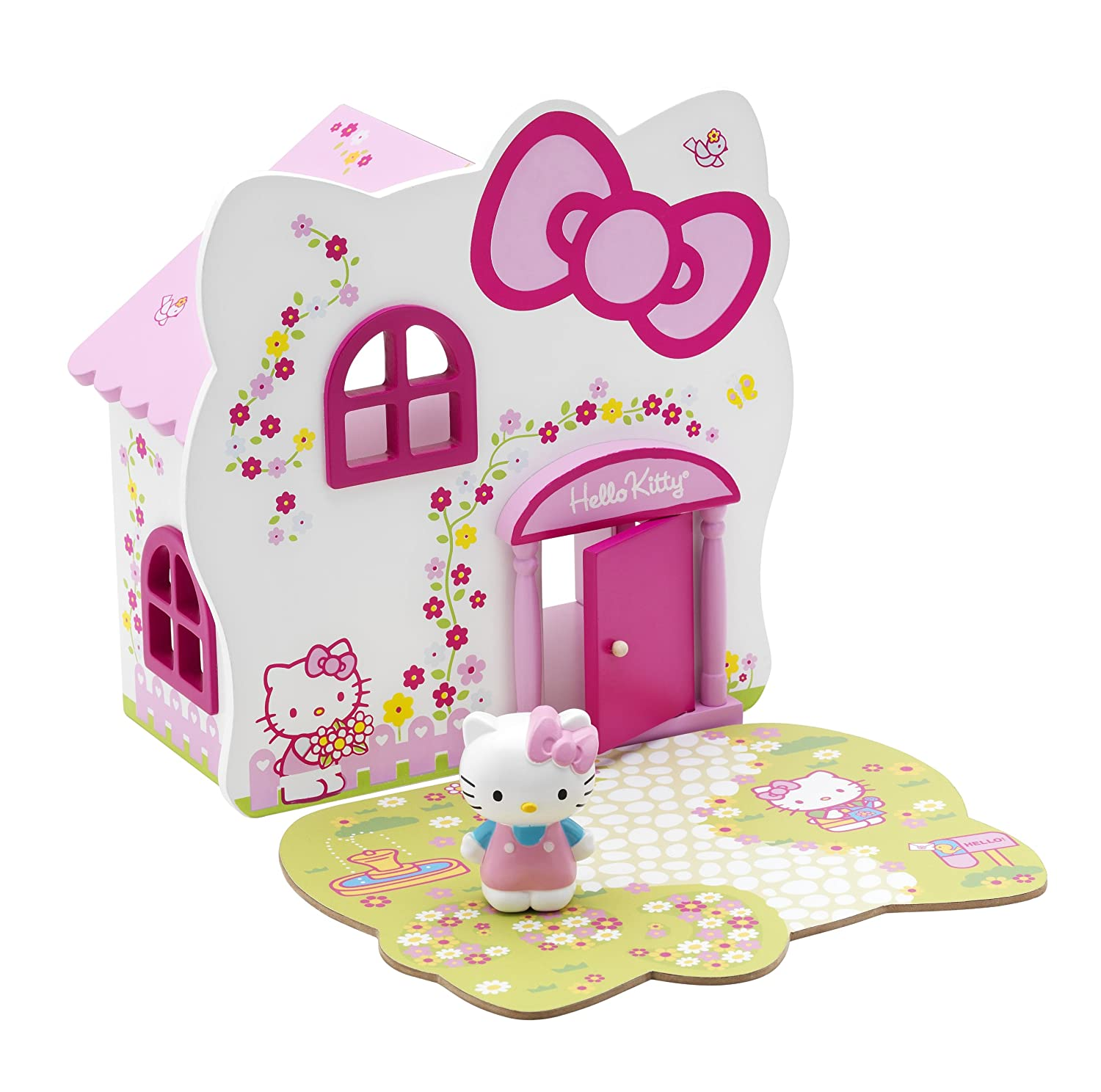 Hello Kitty Country Cottage with Figurine